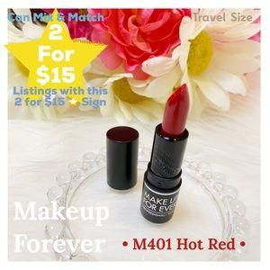 MUFE Artist Rouge Lipstick • M401 Hot Red •